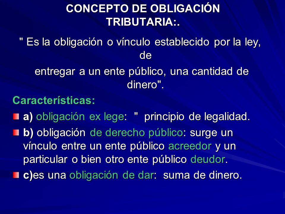 Clases de Obligaciones según LGT Obligaciones tributarias materiales Obligaciones tributarias formales