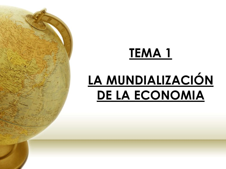 6.EL ORDEN ECONÓMICO INTERNACIONAL.