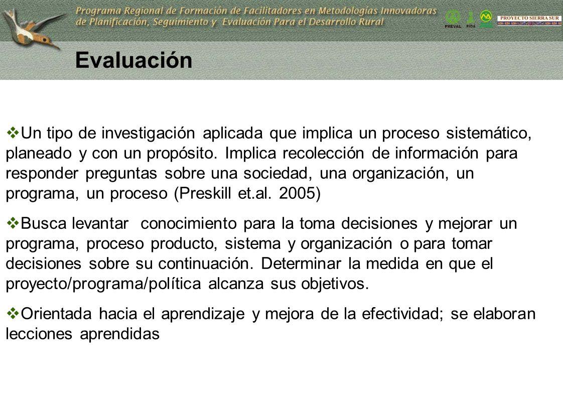 28 Un tipo de investigación aplicada que implica un proceso sistemático, planeado y con un propósito. Implica recolección de información para responde