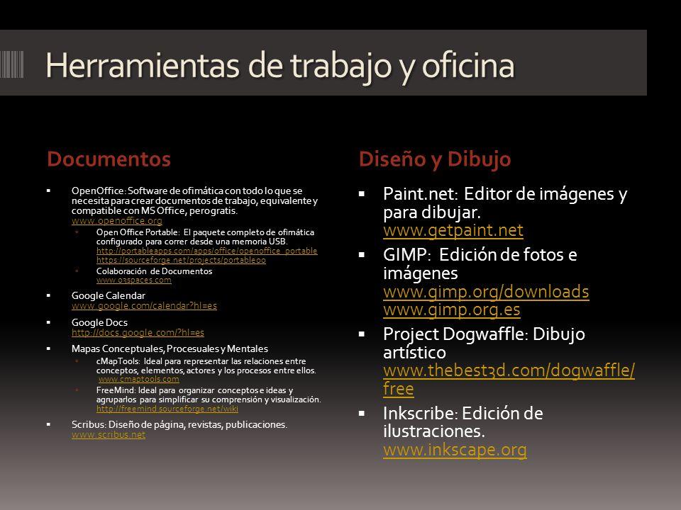 Herramientas de trabajo y oficina DocumentosDiseño y Dibujo OpenOffice: Software de ofimática con todo lo que se necesita para crear documentos de tra