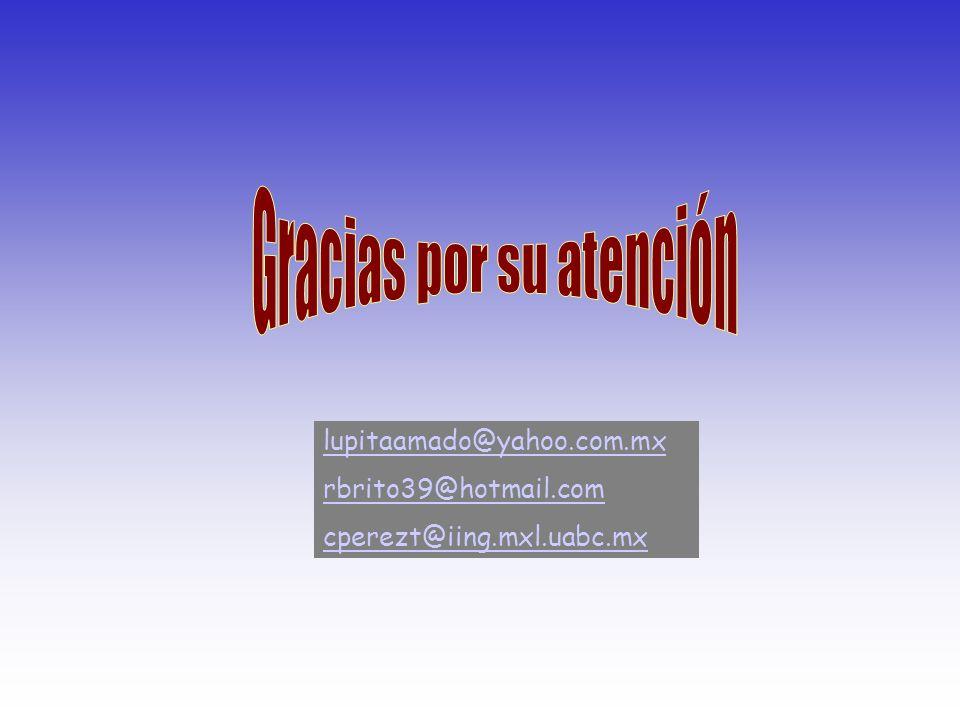 lupitaamado@yahoo.com.mx rbrito39@hotmail.com cperezt@iing.mxl.uabc.mx