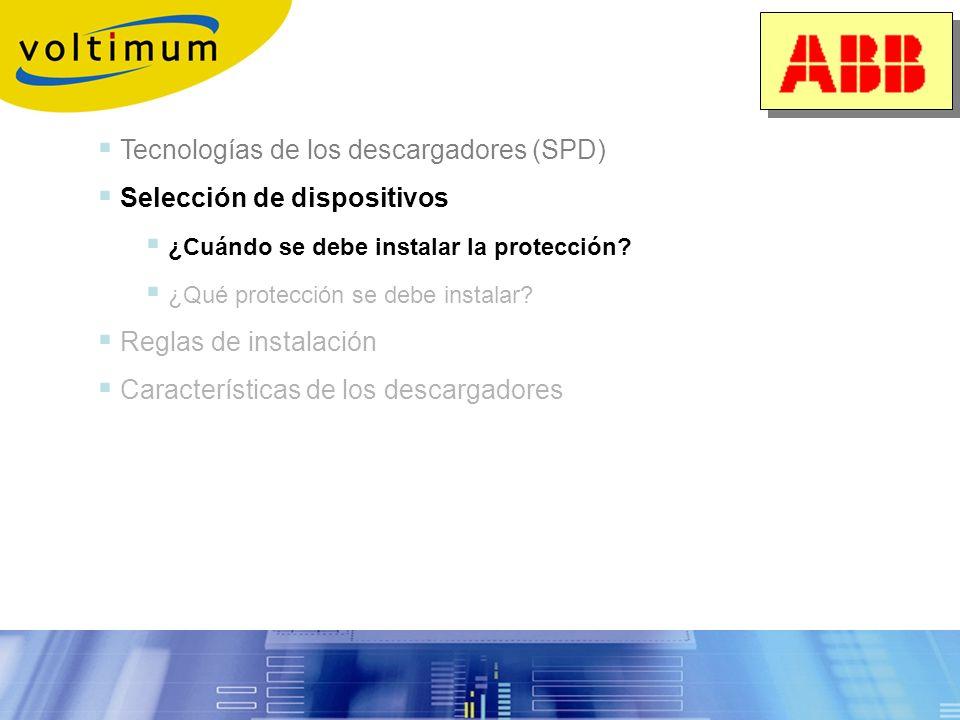 Tecnología de los SPD Vida útil de los descargadores 2. Fin de vida por envejecimiento 1. Fallo de neutro: hasta 400V entre L-N 2. Conexiones incorrec