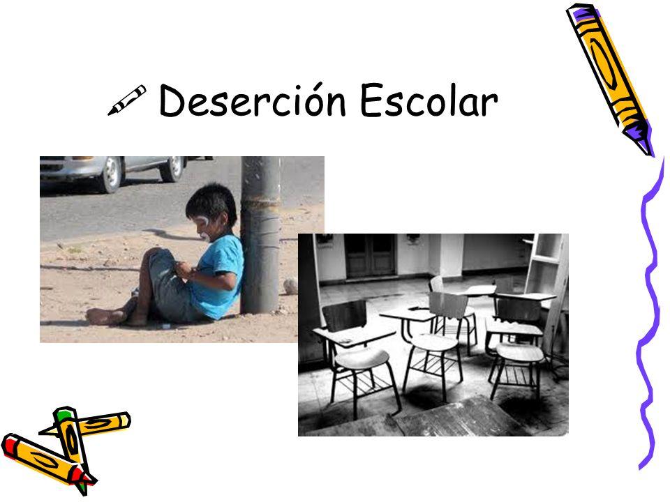 Deserción Escolar