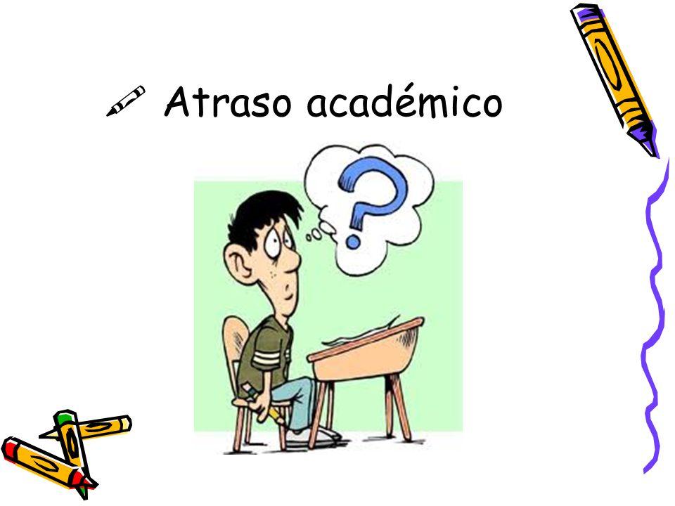 Atraso académico