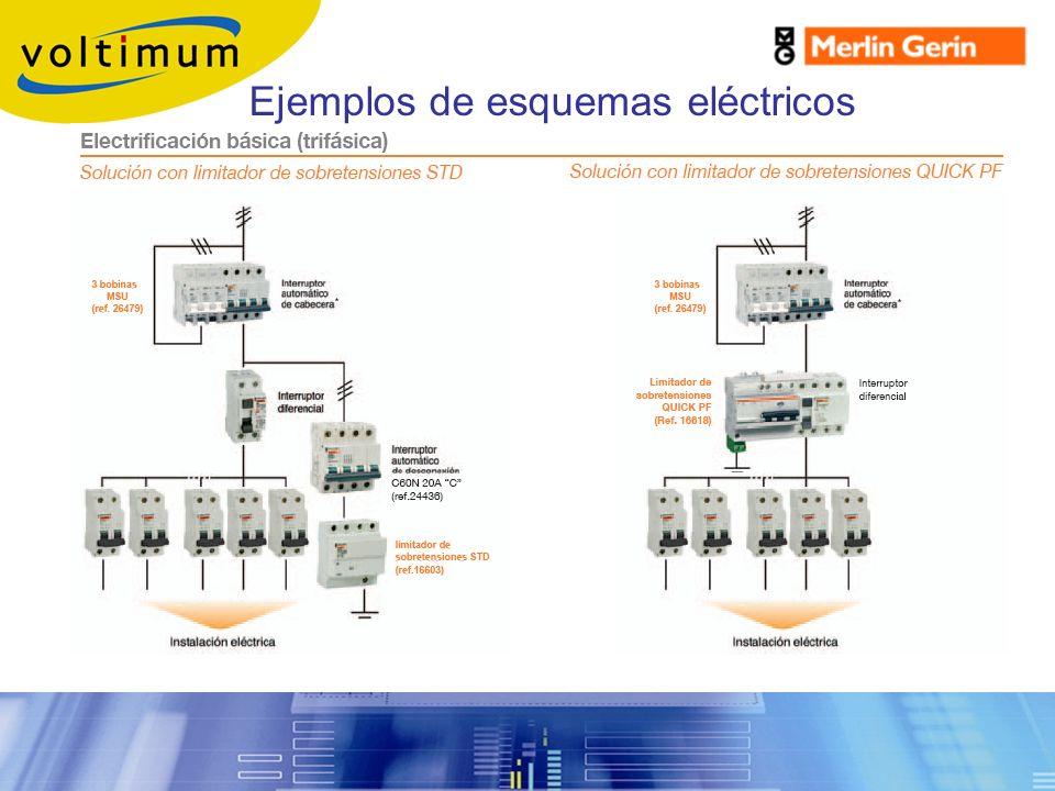 Ejemplos de esquemas eléctricos