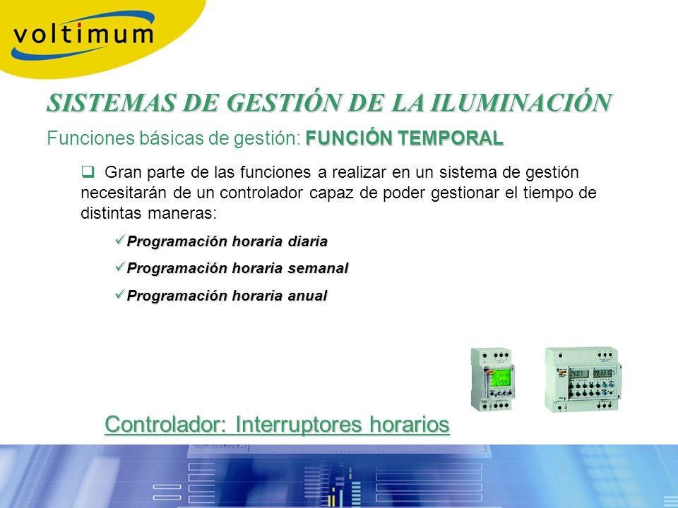 FUNCIÓN TEMPORAL Funciones básicas de gestión: FUNCIÓN TEMPORAL Gran parte de las funciones a realizar en un sistema de gestión necesitarán de un cont