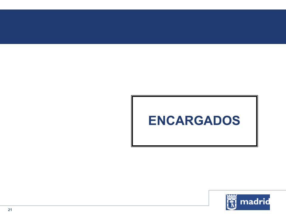 21 ENCARGADOS