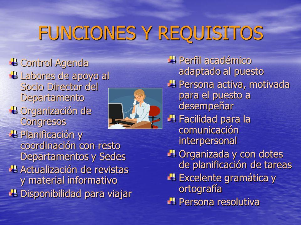 Empresa Multinacional del Sector Farmacéutico selecciona, para su Departamento de Marketing, Secretaria de Dirección. Bilingüe Inglés-Español. Experie