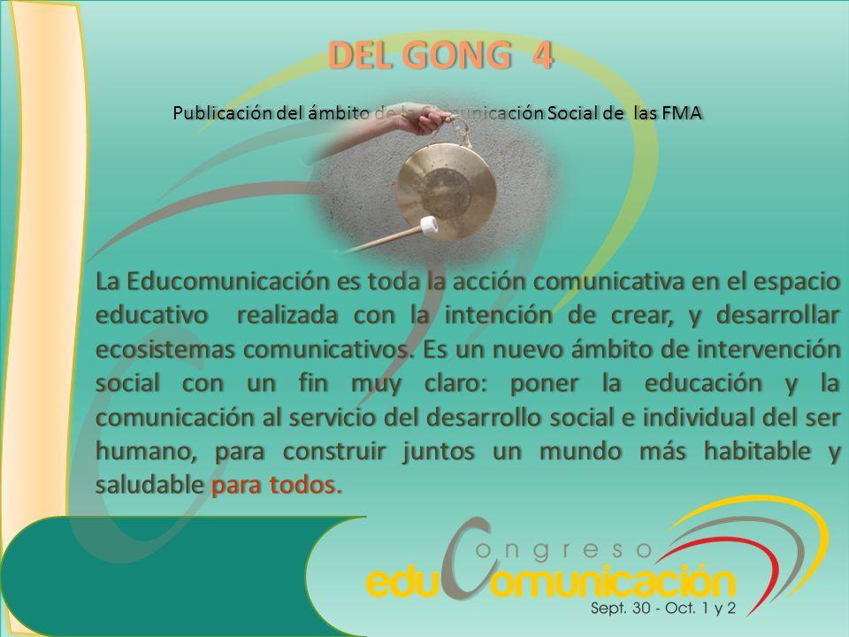 La Educomunicación es toda la acción comunicativa en el espacio educativo realizada con la intención de crear, y desarrollar ecosistemas comunicativos