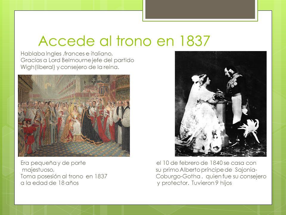 Inicia a finales de 1840 florecimiento de la economía inglesa.