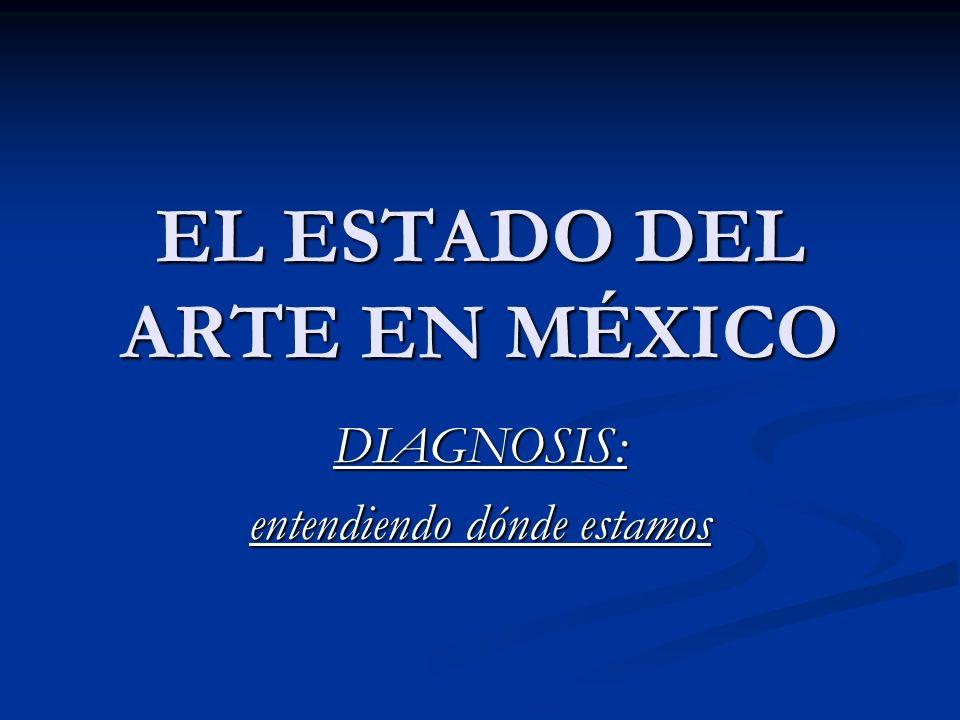 EL ESTADO DEL ARTE EN MÉXICO DIAGNOSIS: entendiendo dónde estamos