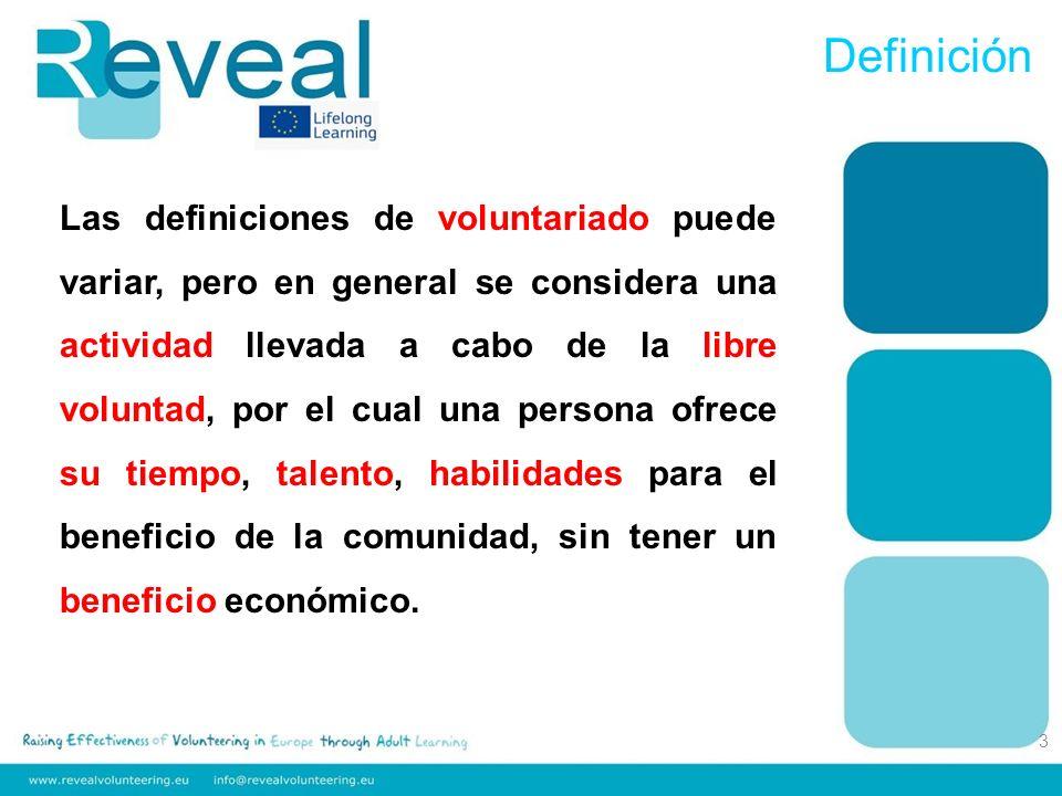 Las características principales que hacen el voluntariado diferente de otras formas de participación: 1.El voluntariado es una actividad libremente elegida por cada individuo.