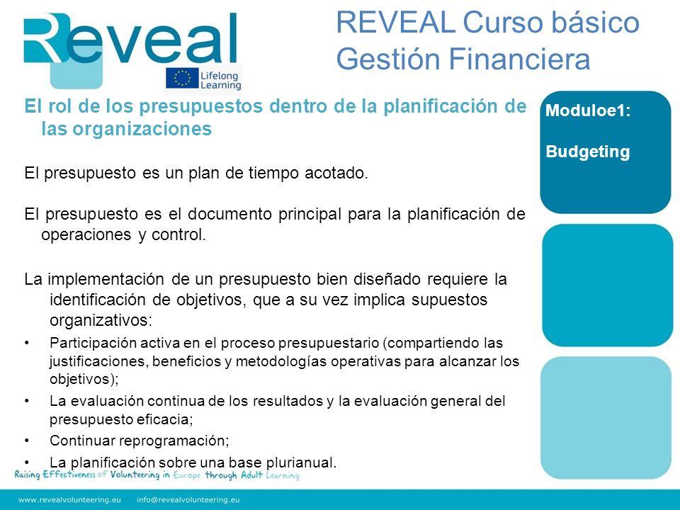 Module 4: Fundraising REVEAL Curso básico Gestión Financiera 3.De GCD al caso : es la historia a contar a su donante potencial.