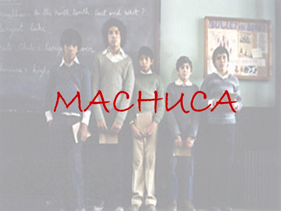 Título original: Machuca Distribuidora: Alta Films Género: Drama Año de producción: 2004 Dirección: Andrés Wood Idioma: Español Duración: 120 minutos Nacionalidad: Chilena.