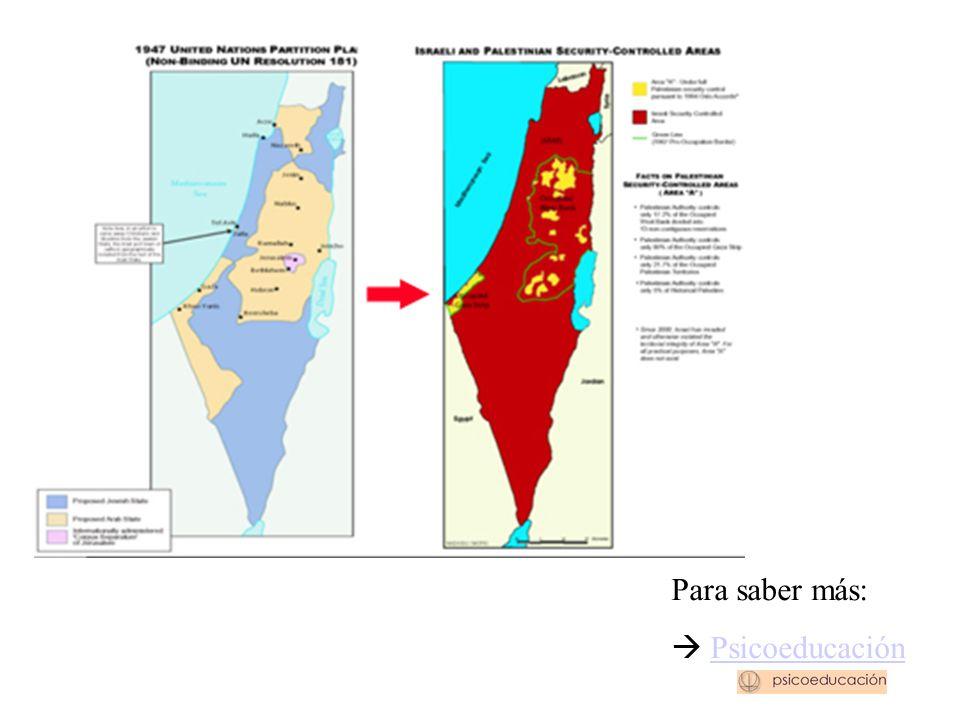 ¿Dónde esta(ba) Palestina? EVOLUCIÓN DE LOS TERRITORIOS
