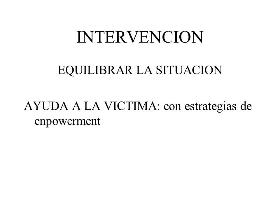 Violencia como fenómeno social Agresor Víctima Ausente Defensor defensor Ayudante ayudante animador VÍCTIMA Salmivalli, 1996