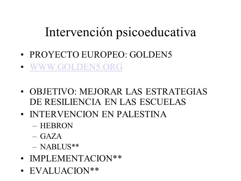 INTERVENCION EQUILIBRAR LA SITUACION AYUDA A LA VICTIMA: con estrategias de enpowerment