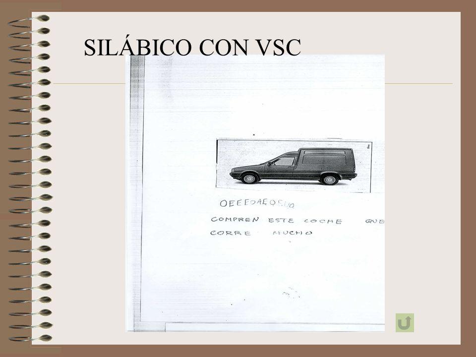 SILÁBICO SIN VSC