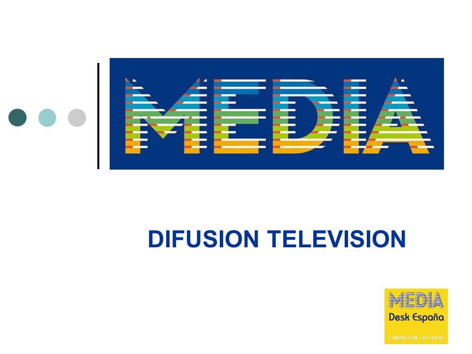 22 DIFUSION TELEVISION Tipo de ayuda Ficción y animación.