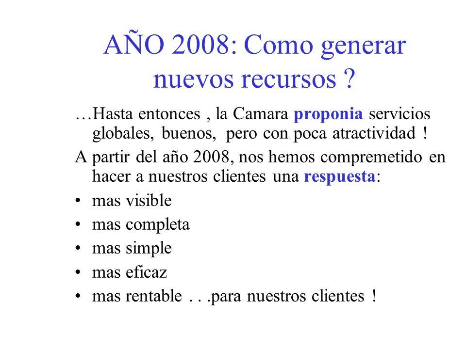 Año 2008: cambio cultural PLANTEAMIENTO ESTRATEGICO : vision a 5 años: cual es nuestro proyecto.