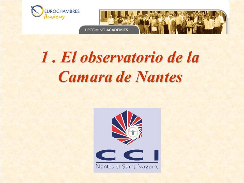 1. El observatorio de la Camara de Nantes