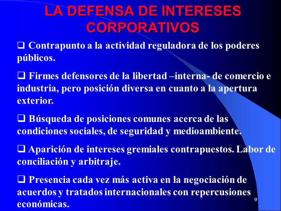 8 CARACTERISTICAS DE LAS OE La naturaleza jurídica es la de derecho privado aunque en algunos casos existe una tutela pública de las mismas.