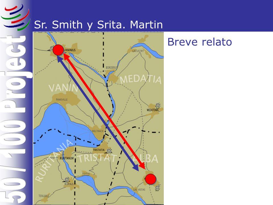 Sr. Smith y Srita. Martin Breve relato