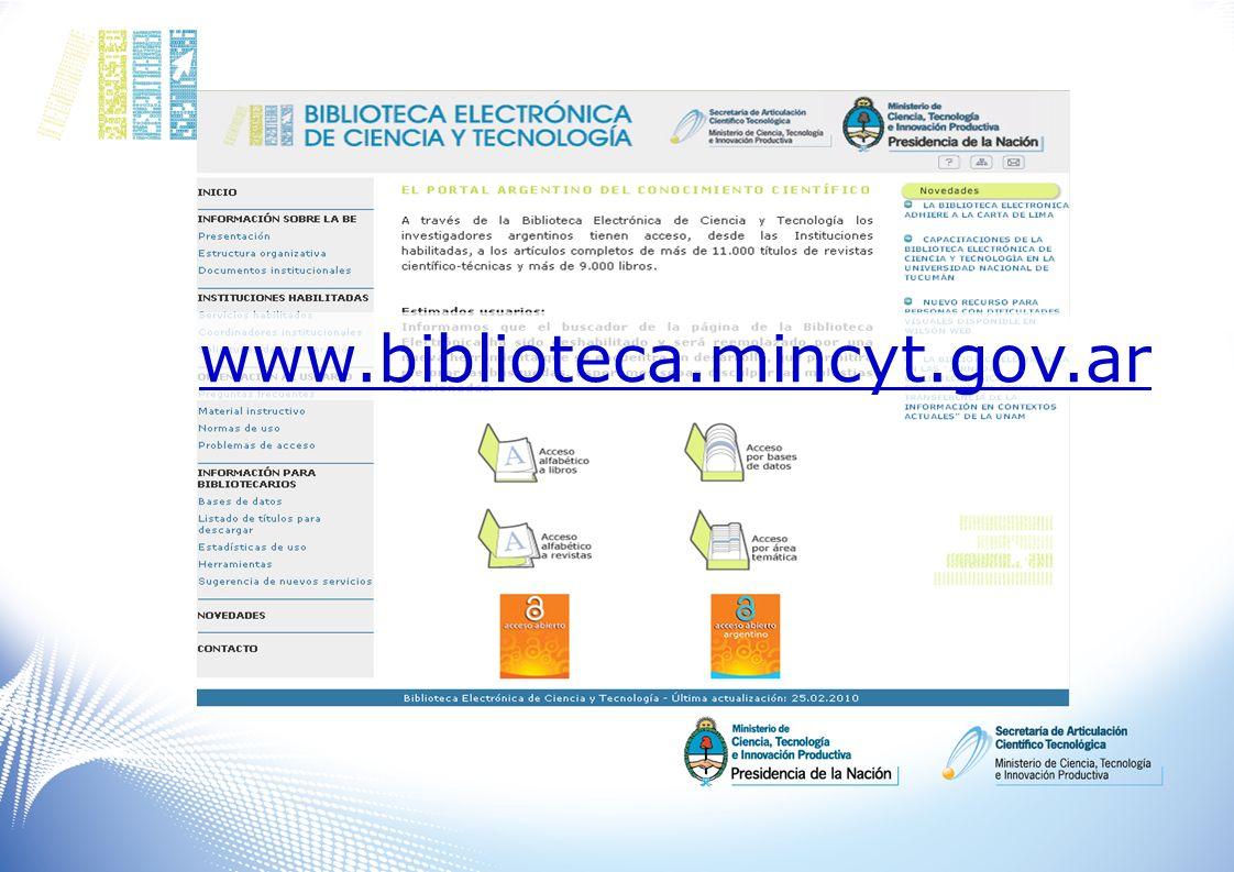www.biblioteca.mincyt.gov.ar