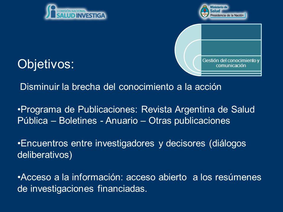 EDITOR Ministerio de Salud de la Nación Argentina.