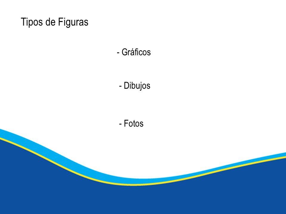 Tipos de Figuras - Gráficos - Fotos - Dibujos