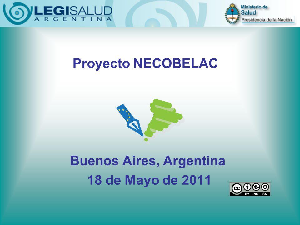 Buenos Aires, Argentina 18 de Mayo de 2011 Proyecto NECOBELAC