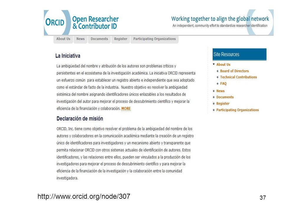 37 http://www.orcid.org/node/307