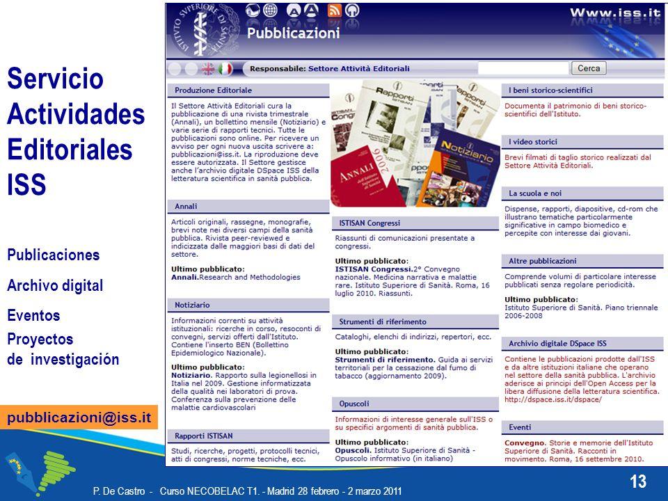 13 P. De Castro - Curso NECOBELAC T1.