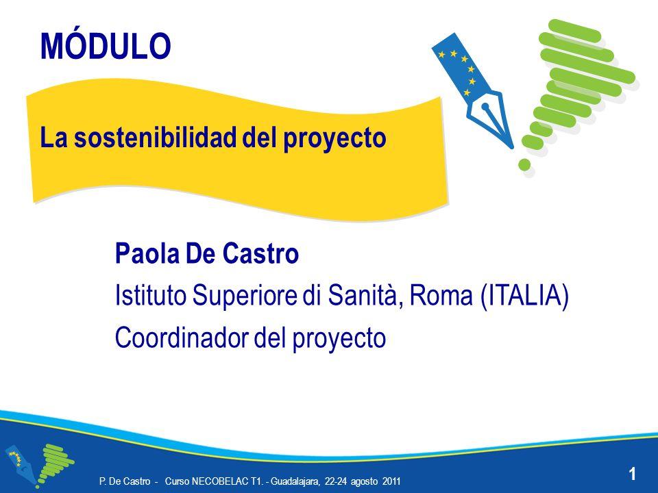 Evaluación P.De Castro - Curso NECOBELAC T1.