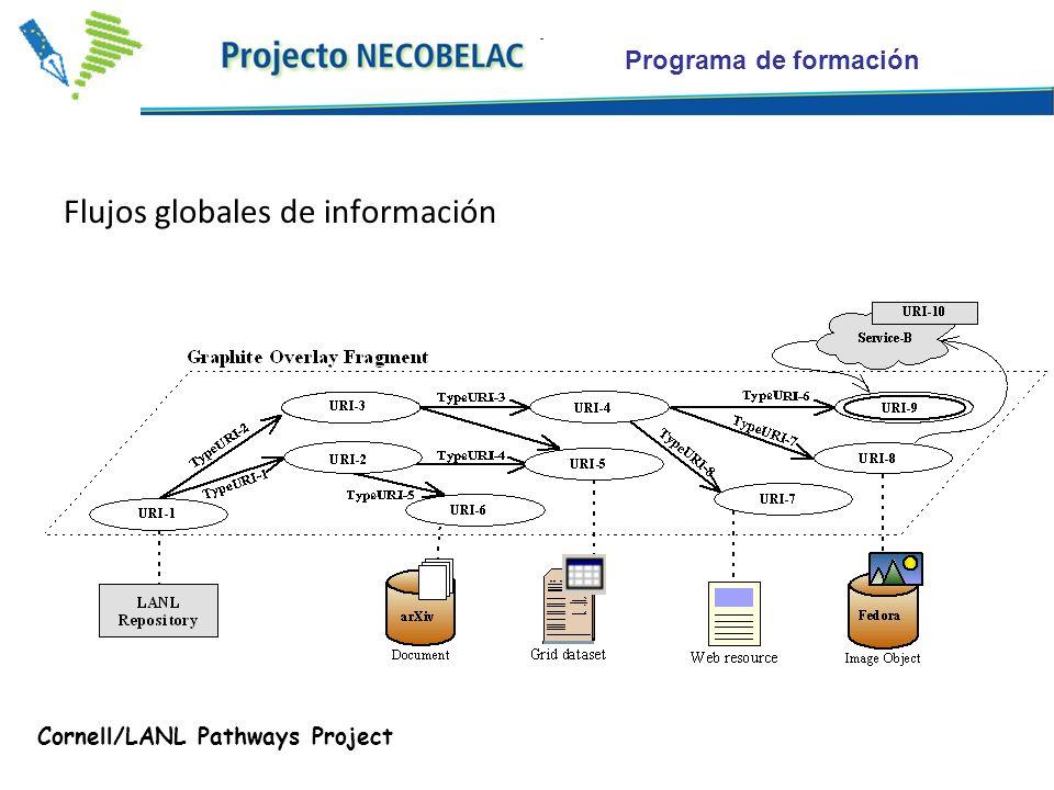 Programa de formación Flujos globales de información Cornell/LANL Pathways Project