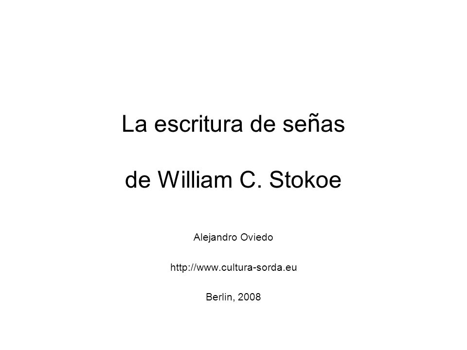 En 1960 publicó William C.