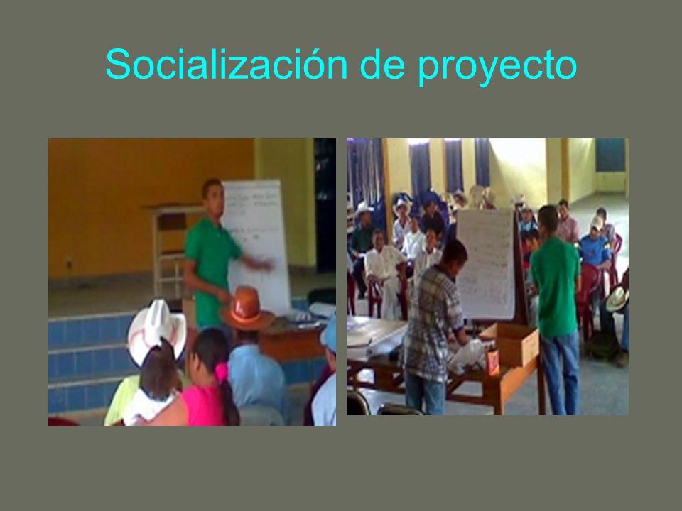 3..CONSOLIDAR EL PLAN DE TRABAJO Para la consolidación del plan de trabajo se realizo un recorrido por las comunidades.