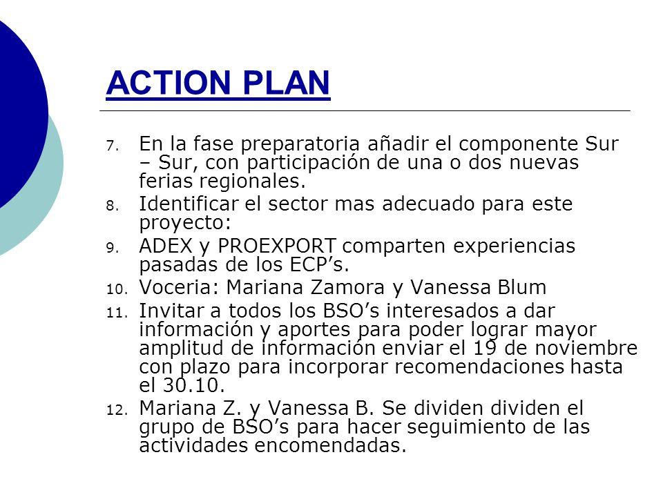 ACTION PLAN 7.