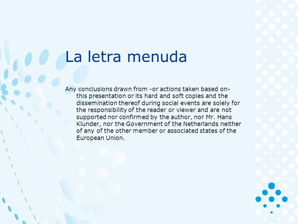 Finland Sweden Denmark England Ireland Netherlands Belgium Germany France Spain Italy Poland Baltic States Hungria Bulgaria Romania Greece 0 1 2 3 4 5 La UNIÓN Europea……………………...