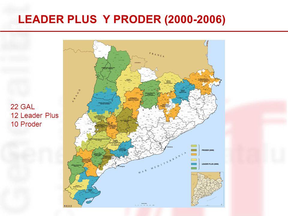 5 EJE 4 LEADER PDR 2007-2013 DE CATALUNYA 13 GAL