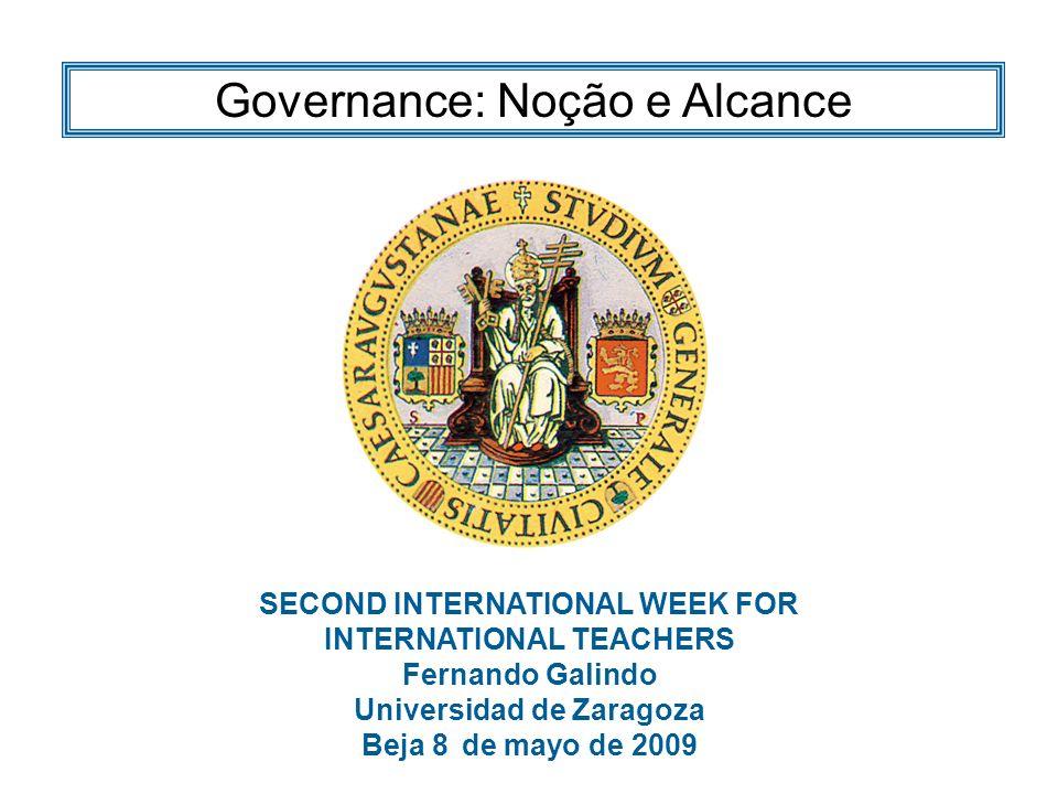 Gobernanza: noción y alcance El sistema jurídico La Jurisprudencia Solución Governance: Noção e AlcanceBeja, 8 de mayo de 2009 Resumen Resumen