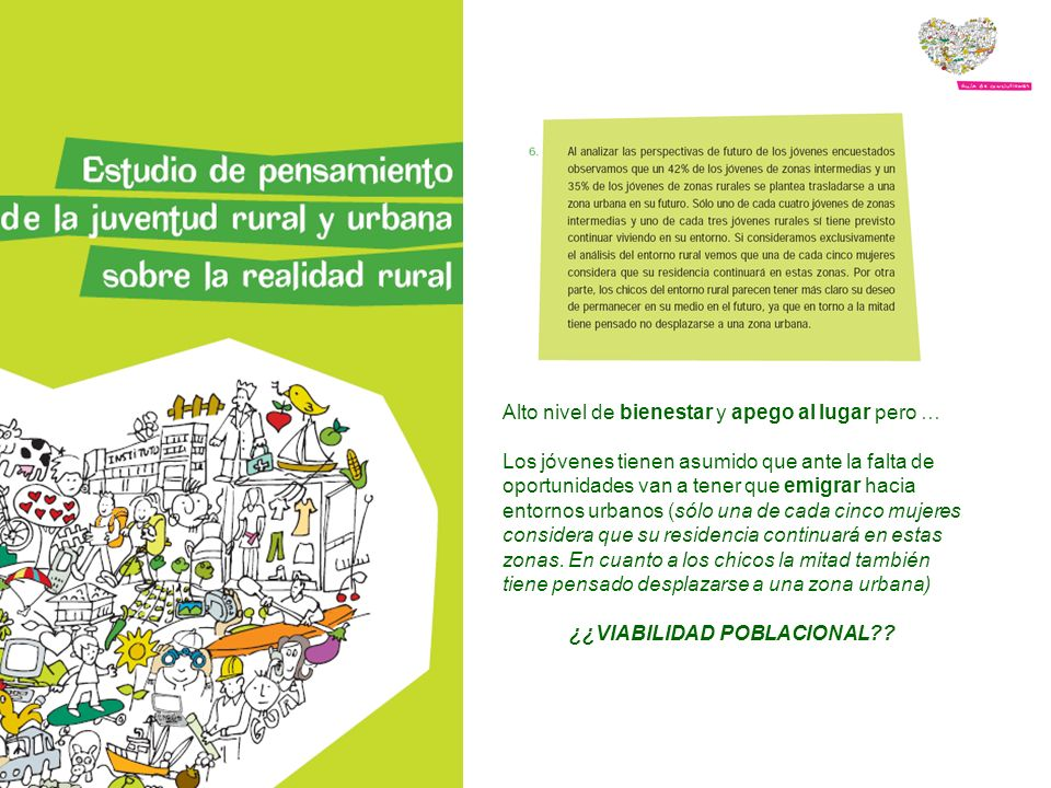 Al igual que en la semana verde los jóvenes volvieron a debatir y reflexionar sobre las ventajas e inconvenientes de vivir en un entorno rural y la importancia de conservar y dinamizar los espacios rurales como piezas de equilibrio territorial.