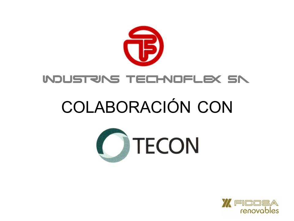 TECHNOFLEX INDUSTRIAS TECHNOFLEX (empresa participada al 100% por FICOSA International, S.A.) debido a la situación del mercado de la construcción, hace ahora dos años empezó un proceso de diversificación de producto (sin dejar de lado su core business de maquinaria especializada para el sector de la construcción).