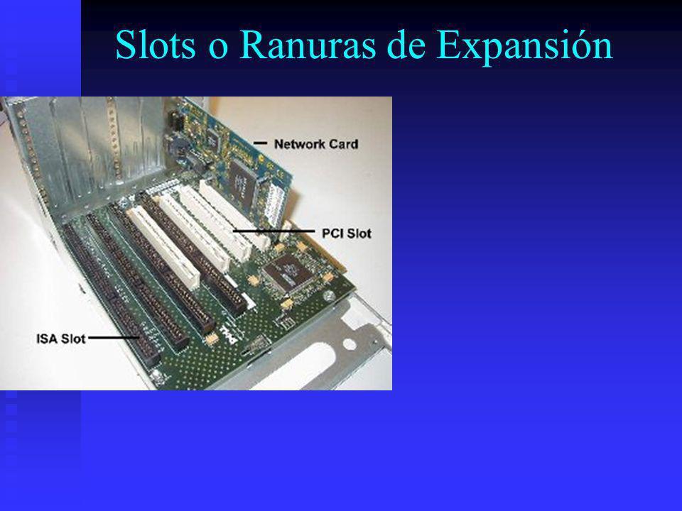 Slots o Ranuras de Expansión
