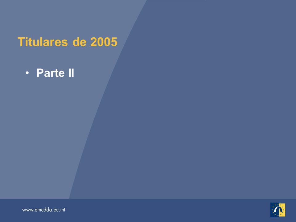 Titulares de 2005 Parte II