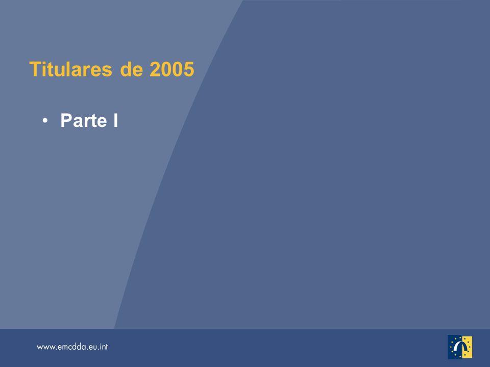 Titulares de 2005 Parte I