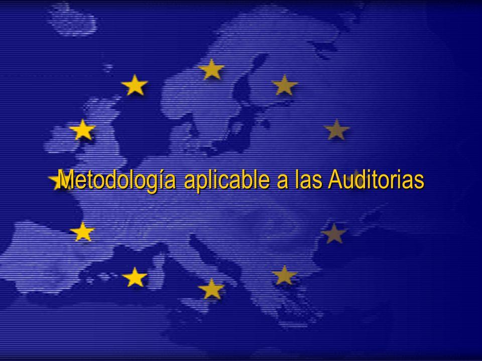 Metodología aplicable a las Auditorias