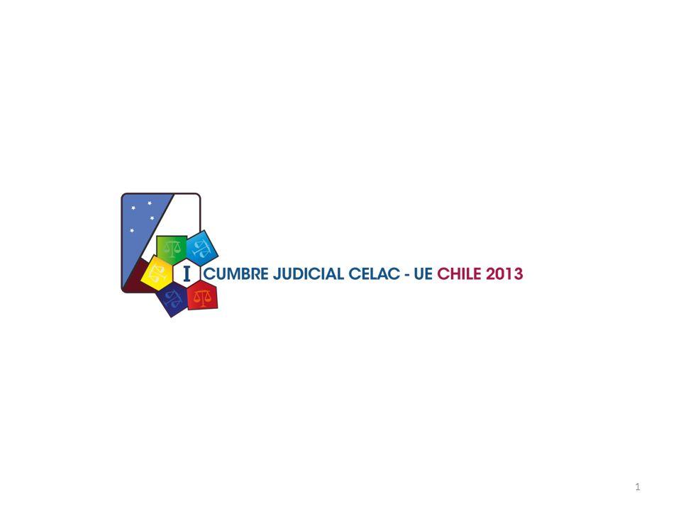 2 I.CONTEXTO I.PROPUESTA DE CHILE PARA LA ORGANIZACIÓN Y FUNCIONAMIENTO DE LA PRIMERA CUMBRE JUDICIAL CELAC-UE, CHILE-2013 III.