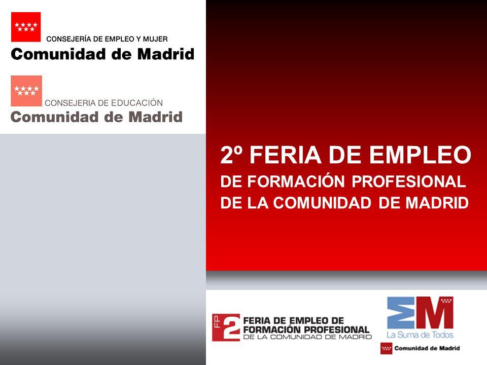 2º FERIA DE EMPLEO DE FORMACIÓN PROFESIONAL DE LA COMUNIDAD DE MADRID