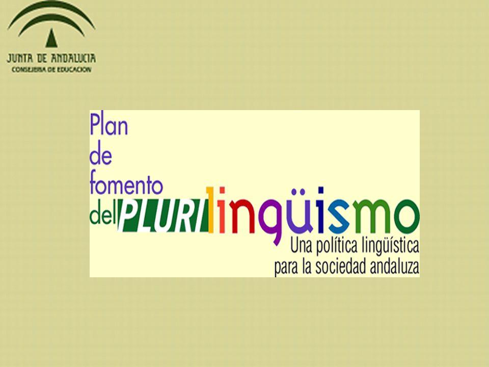 OBJETIVOS: Impulsar la formación del profesorado de idiomas y del profesorado de las áreas no lingüísticas.